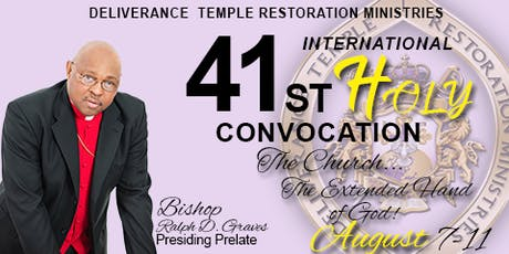 DTRM Inc, 41st International Holy Convocation tickets