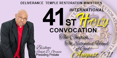 DTRM Inc, 41st International Holy Convocation