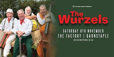 The Wurzels (The Factory, Barnstaple)