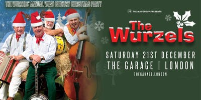 The Wurzels' Westcountry Christmas Party! (The Garage, London)