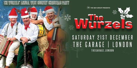 The Wurzels' Westcountry Christmas Party! (The Garage, London) tickets