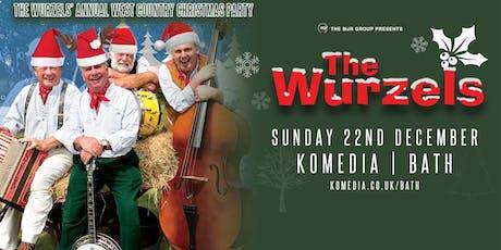The Wurzels' Westcountry Christmas Party! (Komedia, Bath) tickets