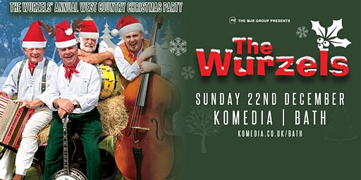 The Wurzels' Westcountry Christmas Party! (Komedia, Bath)