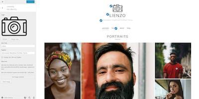 Setup your WordPress portfolio website with Lienzo