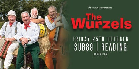 The Wurzels (Sub89, Reading) tickets