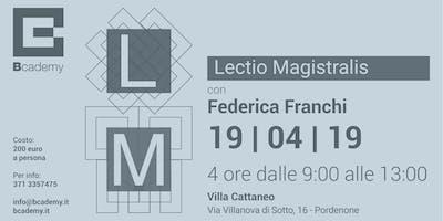 Lectio Magistralis | Federica Franchi