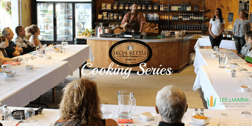 Iron Kettle Cooking Series @ Lee & Maria's: The Classic Steakhouse
