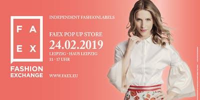 FAEX Pop Up Store - Leipzig