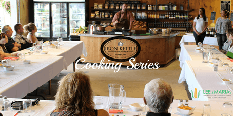 Iron Kettle Cooking Series @ Lee & Maria's: Calling All VEGANS tickets