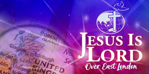 Jesus Is Lord Church East London 8th Year Anniversary