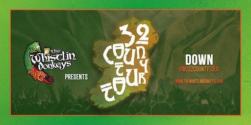 The Whistlin' Donkeys - 32 County Tour - Down - Teconnaught Festival
