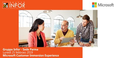 Customer Immersion Experience: Office365 e Microsoft365