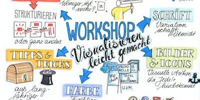 Visualisieren für Moderation und Präsentation | Sketchnote
