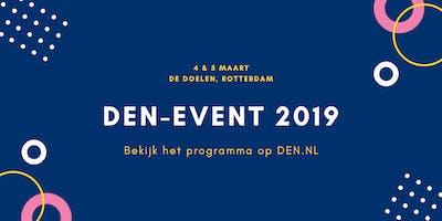 DEN-event 2019 - Ticket voor maandag 4 maart 2019