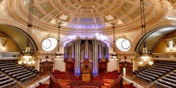 Tour of Methodist Central Hall including Organ Recital