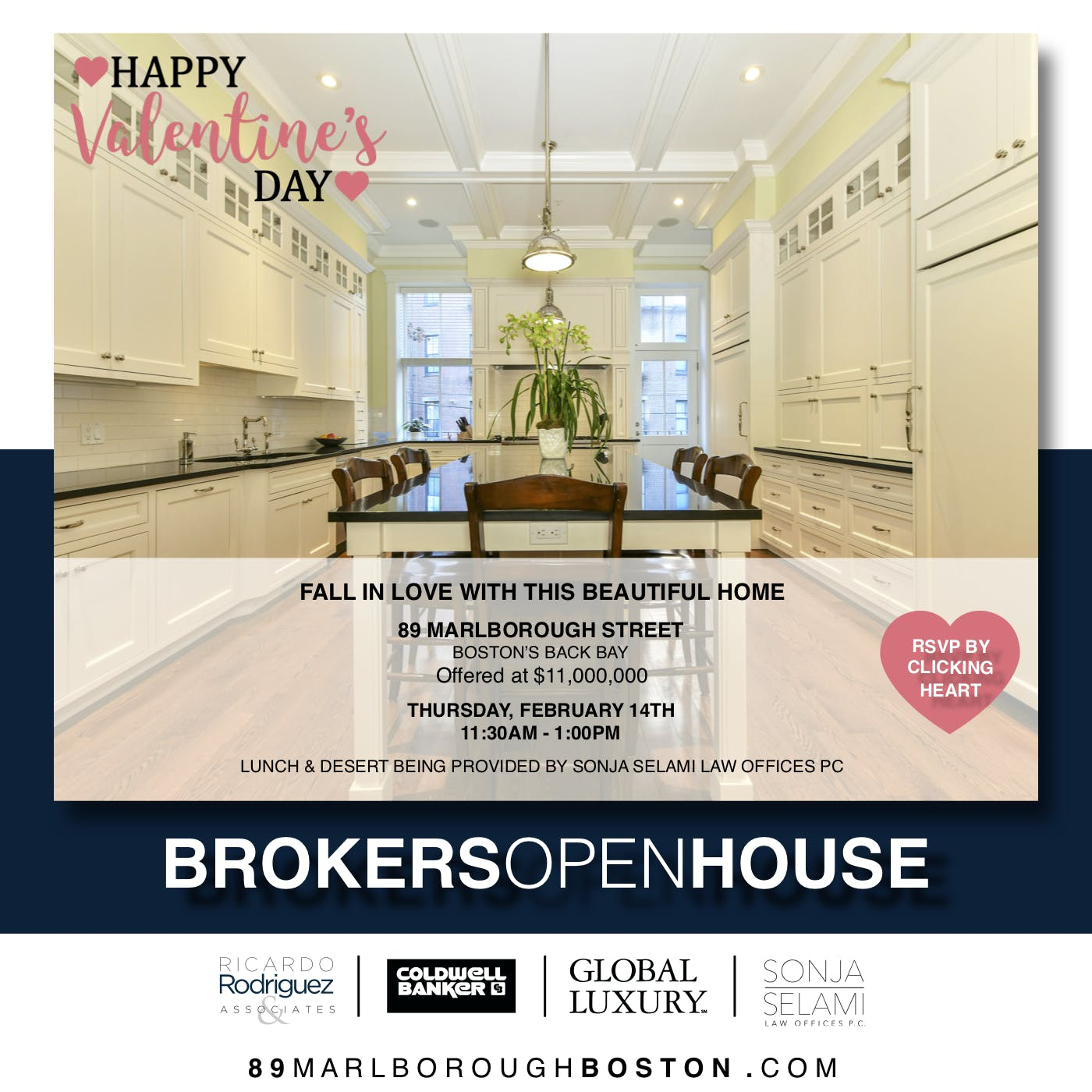 3e74c08309c886 Valentines Day Brokers Open House - 14 FEB 2019
