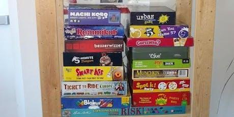 Board Games & Beer tickets