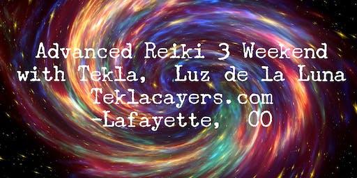 Advanced Reiki 3 Weekend November 2019