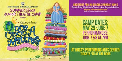 HHCA's Summer Stock Junior Theatre Camp - G2K Once Upon a Mattress