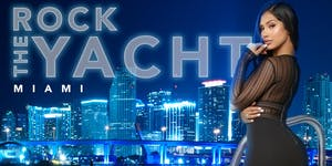 ROCK THE MIAMI SUPER BOWL WEEKEND 2020 ALL BLACK YACHT...