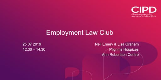 Employment Law Club July 2019