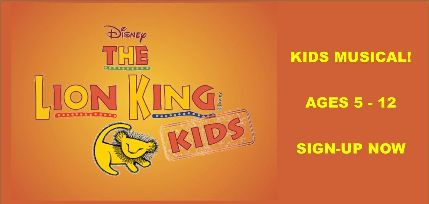 NEW! Gilbert Location: Lion King Kids Registration (Ages 5 - 12) at Desert Hills HS