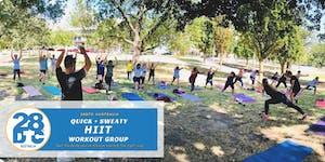 Hiit Workout @ Flagstaff Garden Outdoor by 28DTC...
