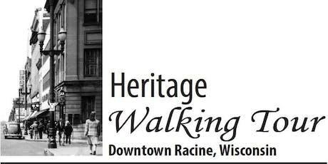2019 Heritage Walking Tours tickets