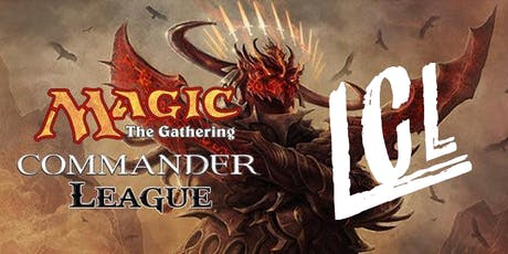 Lincoln MTG Commander League tickets