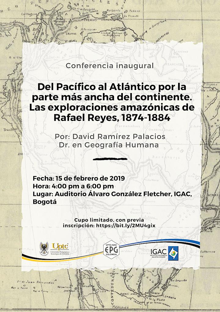 Conferencia inaugural periodo académico 2019-I image