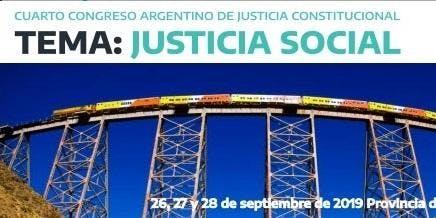 4to Congreso Argentino de Justicia Constitucional