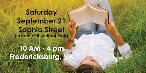The 4th Annual Fredericksburg Book Festival (visitors)