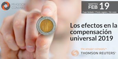 Los efectos en la compensación universal 2019 - Guadalajara