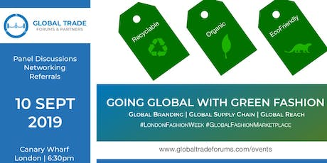 Going Global With Green Fashion tickets
