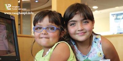 Countdown to Kindergarten at Pierre Berton Resource Library