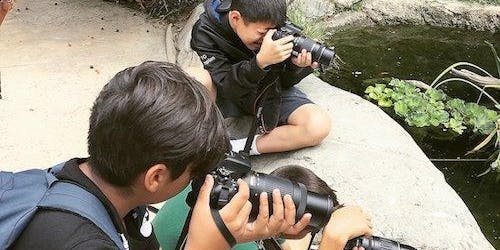 Kids Summer Photography Camp in Orange County