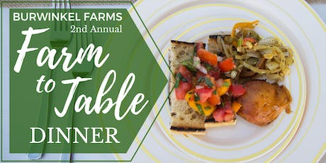 Farm-to-Table Dinner tickets