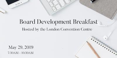 Board Development Breakfast