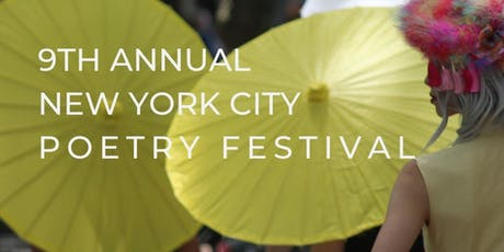 The 9th Annual New York City Poetry Festival tickets