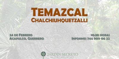 Ceremonia de Temazcal