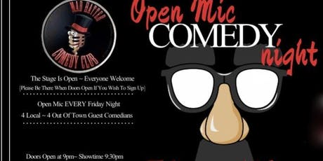 Mad Hatter Comedy Open Mic Night Late Show tickets