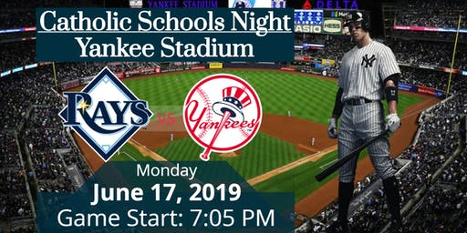2019 Catholic Schools Night at Yankee Stadium - Central Westchester Students