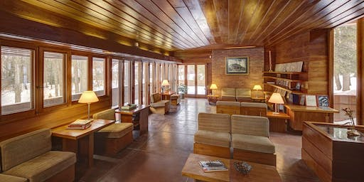 2019 Frank Lloyd Wright Affleck House - Deeper Dive Tour