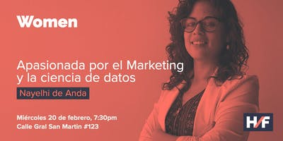 H/F Women - Apasionada por el Marketing y la ciencia de datos