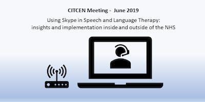 CITCEN Meeting June 2019 - Using Skype in SLT