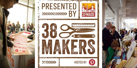 38Makers 2019 - Holiday Fair at Pinterest tickets