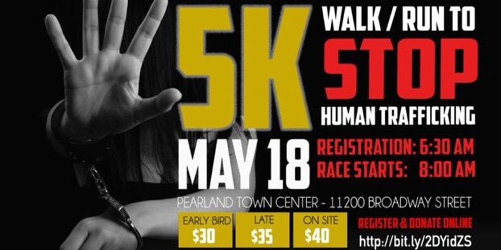 Houston Area Chapter of NAPNAP 5K Walk/Run to STOP Human Trafficking