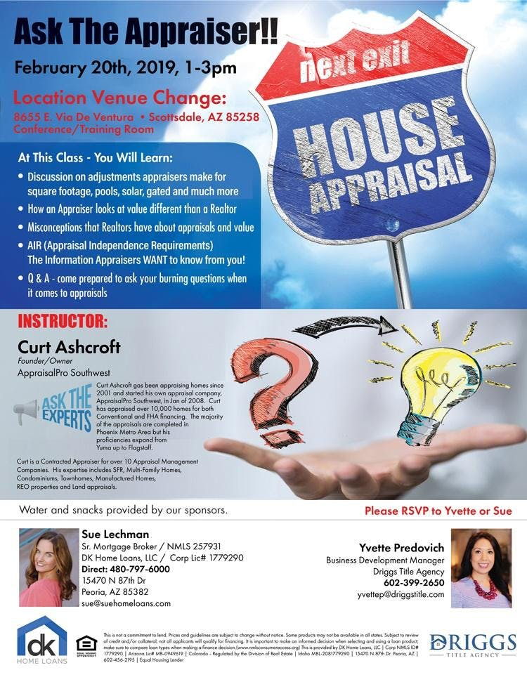 Ask the Appraiser - Free Event