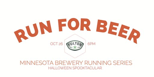 Beer Run - Fulton Brewery HALLOWEEN SPOOKTACULAR - Part of the 2019 MN Brewery Running Series