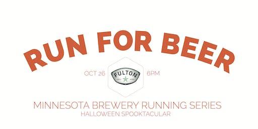 Beer Run - Fulton Brewery HALLOWEEN SPOOKTACULAR - Part of the 2019 MN Brewery Running Series